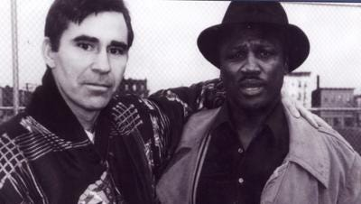 Ronnie Gibbons and Joe Frazier
