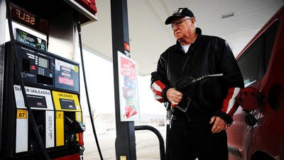 Gas prices fell slightly in Sioux Falls this week but are expected to increase nationally this spring.