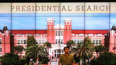 FSU's presidential search advisory committee meets Friday.
