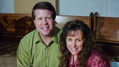 """Jim Bob and Michelle Duggar, stars of TLC's """"19 Kids and Counting."""""""