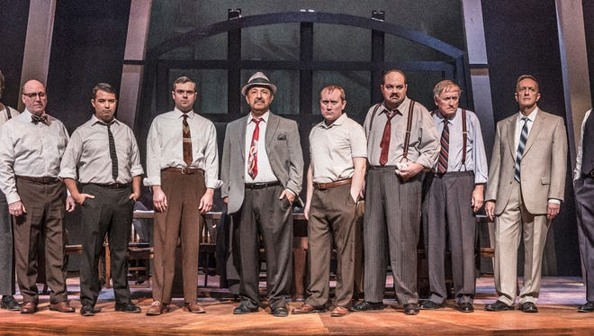 "Jurors weigh a teenager's fate in ""Twelve Angry Men"" through Feb. 21 at the Des Moines Community Playhouse."