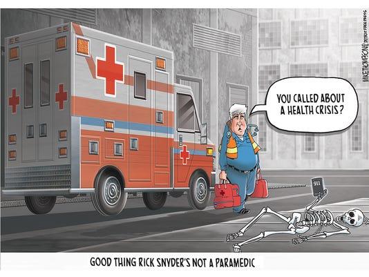 Gov. Snyder and Flint
