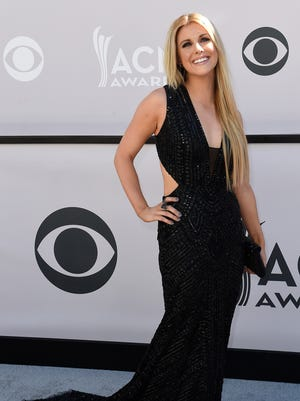Lindsay Ell during the 52nd Academy of Country Music Awards red carpet at T-Mobile Arena on Sunday, April 2, 2017, in Las Vegas, Nev.