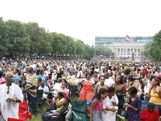 Indiana Black Expo's Summer Celebration free concert