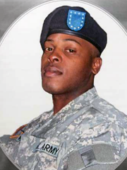 Donshay White was a 37-year-old Army veteran.