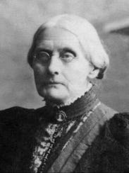 Susan B. Anthony, womens rights leader.