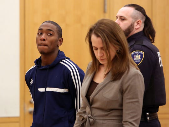 Garth O'Neil Cole, 22, of Mount Vernon, appears in