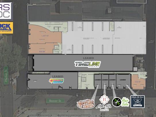 Floor plan of RSDC's REVI Flats redevelopment project.