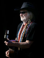 Willie Nelson performs on Day 4 of the Rothbury music