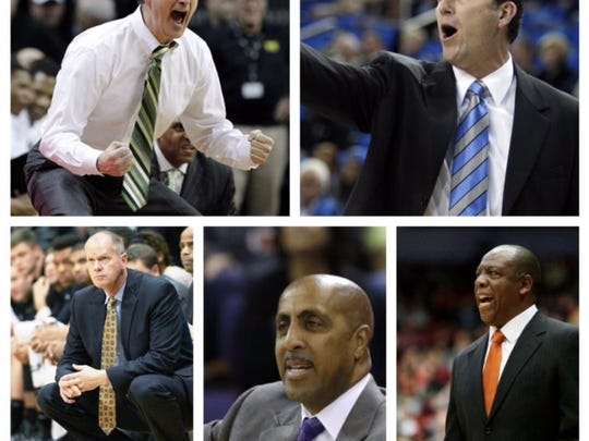 The five Pac-12 coaches who have won the Pac-12 Tournament.