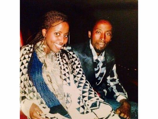 Michael Bzichaza and sister, Murekatet Rukamby (left).