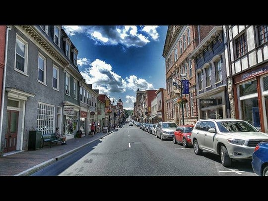 A look at downtown Staunton.