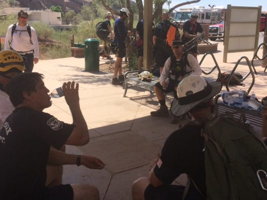 Firefighters respond to 3 separate mountain rescues