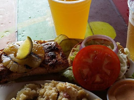 """Shaggy's food goes beyond """"bar and grill"""" food to tempt any discerning diner's palate."""