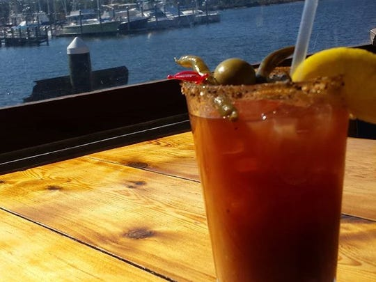 """It's always Bloody Mary time at Oar House!"""