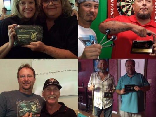 Eagles Pool Tournament Winners