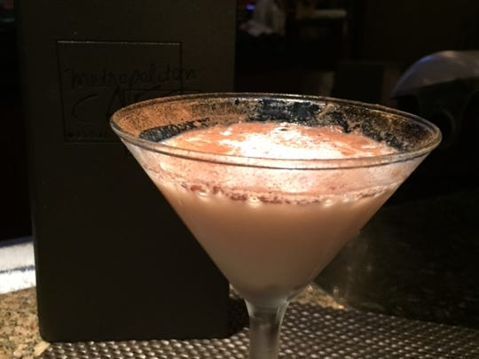 The Rice Pudding Martini at Metropolitan Cafe in Freehold.