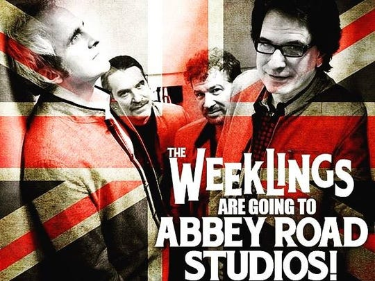The Beatles-inspired band The Weeklings will be recording their second album in early June at London's Abbey Road Studios.