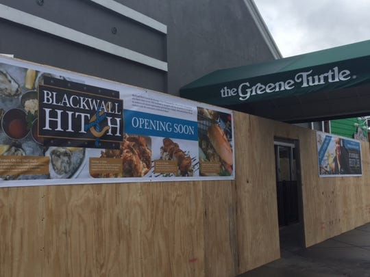 Blackwall Hitch is taking over Rehoboth Avenue spot formerly occupied by The Greene Turtle. It should open in late May or early June.