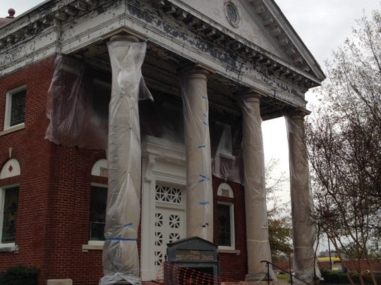 Trinity began work on the historic Third Presbyterian Church building in 2014.