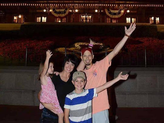 The family took a magical Disney vacation.