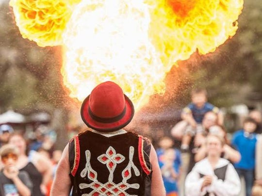 Tribal Circus will perform at the 18th annual Ingleside Renaissance Faire on Saturday and Sunday.