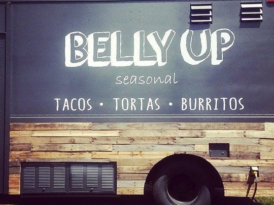 The Belly Up Truck.