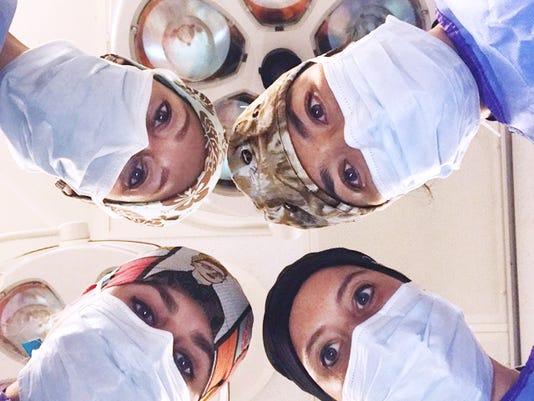 Female surgeons