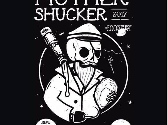 The poster for the 6th Annual Mother Shucker event