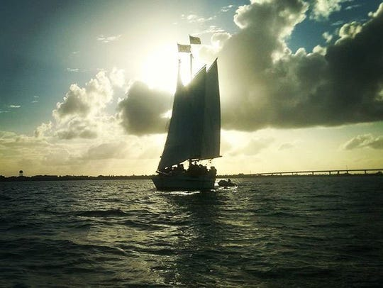 Relax and set sail for a two-hour sunset cruise aboard