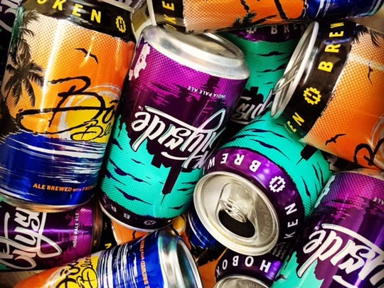 Hoboken Brewery's signature beers are Cityside IPA and the Bodi Blonde