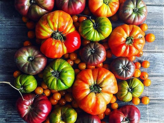Tomatoes were the winning combination for the #JerseyFreshLove 2017 photo contest.