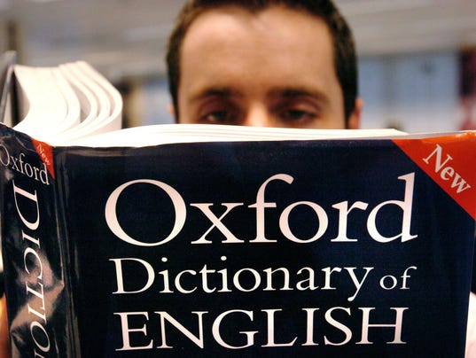 AP BRITAIN WORD OF THE YEAR I FILE GBR
