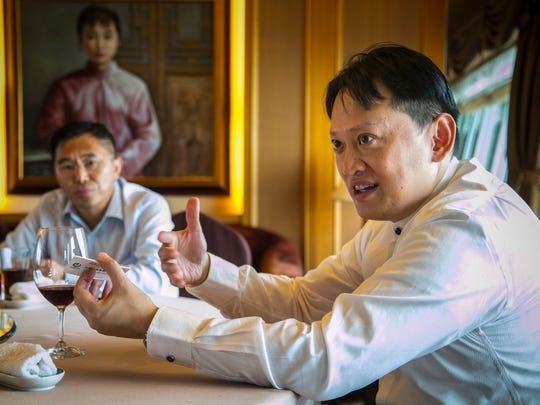 David Shao, President of Agria.