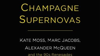 """This photo provided by Simon & Schuster/Touchstone shows the cover of the book, """"Champagne Supernovas,"""" by author, Maureen Callahan."""