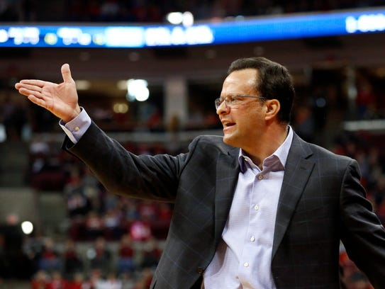 Tom Crean was Indiana's coach for nine seasons, winning