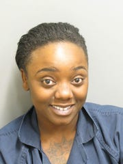 Tchernavia McWilliams is charged with two counts of robbery first degree.