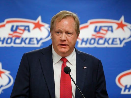 AP USA HOCKEY-JOHANNSON S HKO OLY FILE USA MI