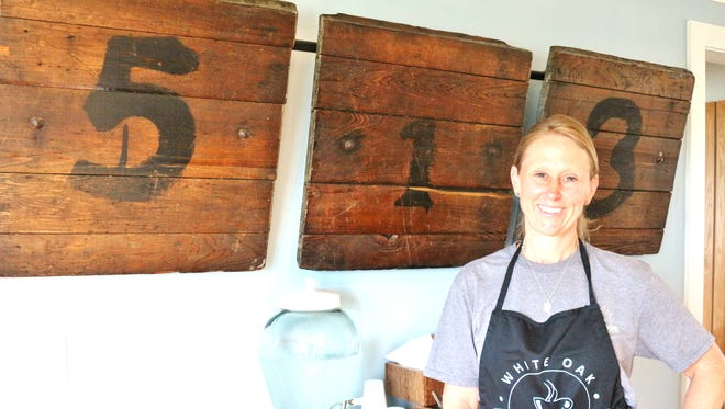 White Oak Coffee House owner Nikki Hudepohl says she loves having a place where people can connect over a cup of coffee and a cinnamon roll.