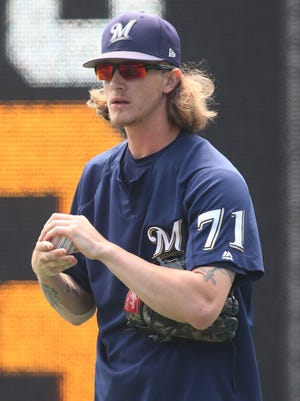 Brewers relief pitcher Josh Hader will be required to participate in sensitivity training and MLB's diversity and inclusion initiatives.