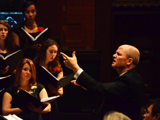 The Cornell University Chorus, under the direction of Robert Isaacs, will present its annual Twilight Concert in Bailey Hall on Saturday