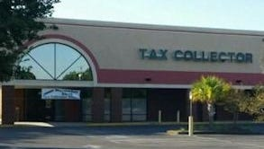 The Warrington office of Escambia County tax collector Janet Holley.