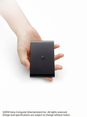 The new Sony PlayStation TV device.