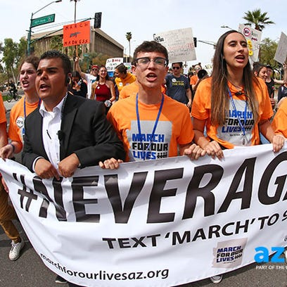March for Our Lives Arizona leaders speak out on Twitter: #IfIDieInASchoolShooting; plan vigil