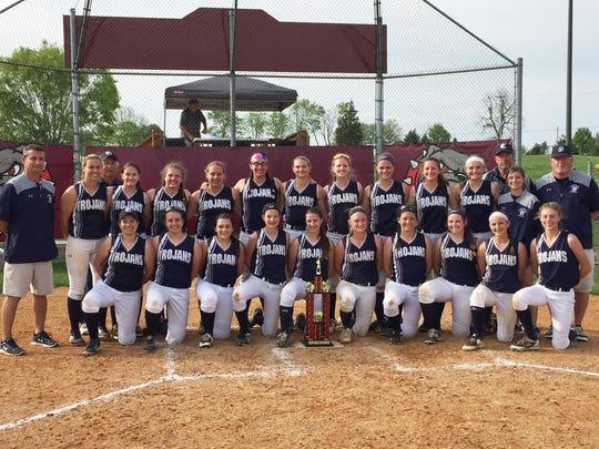 The Chambersburg softball team won its second straight
