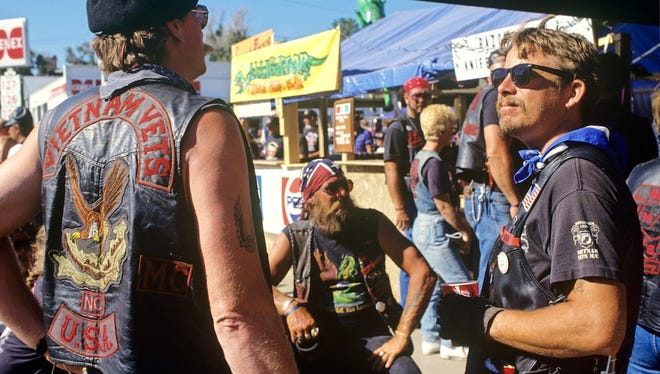 The Sturgis Motorcycle Rally attracts weekend warriors but also outlaw biker gangs to the Black Hills town each year.