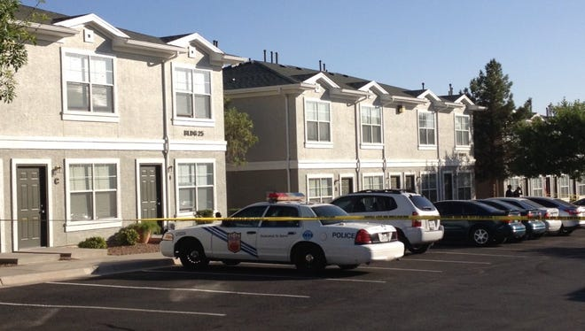 Fernando Alonzo Alarcon is accused of decapitating his mother at an apartment in the Mesa Place Townhomes, 5450 Suncrest Drive.