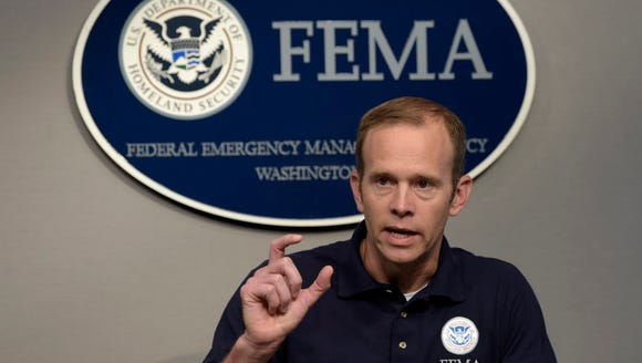 Federal Emergency Management Agency Administrator Brock