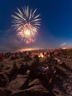 Head to Lincoln City on the Fourth of July.