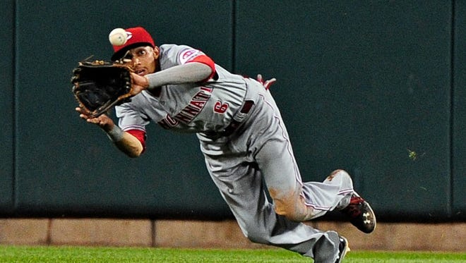 Billy Hamilton came in second for NL Rookie of the Year.